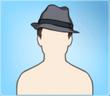 Bicolor Hat