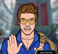 Jack deteniendo