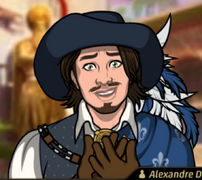 Alexandre en La Soberbia Precede a la Ruina