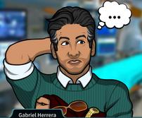 Gabriel Sosteniendo ropa y accesorios1