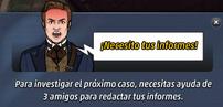 Arthur necesita tus informes