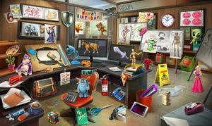 Sala de Dibujo - Había una Vez un Crimen