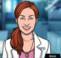 5 Grace Delaney - Jefe del Laboratorio Experto en Análisis Físicos