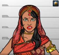 Arsha en Sangre en Bollywood