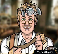 Charles con una lista codificada