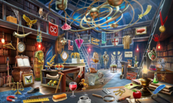 CrimeScene Evie's Library