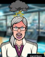 Ingrid enfurecida 2
