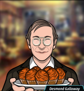 Desmond cupcakes
