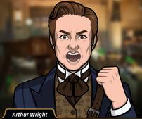 Arthur enojado