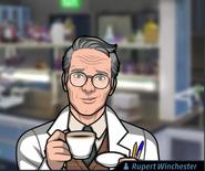 Rupert Kahve İçerken