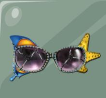 Gafas de sol de Holly.
