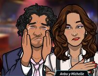 Michelle y Anbu 2
