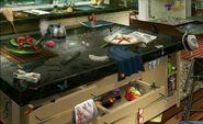 Mostrador de la Cocina