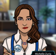 Мишель Зурия как агент бюро