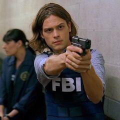 Reid's Glock 17 in