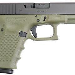 Green Glock 19