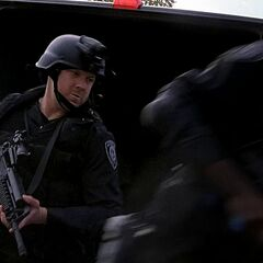 SWAT officers with M4A1s in