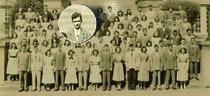"The Arkansas High School class of 1948, with suspect H.B. ""Doobie"" Tennison"