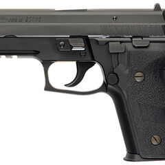 SIG Sauer P229R - Note the rail allowing for accessories.