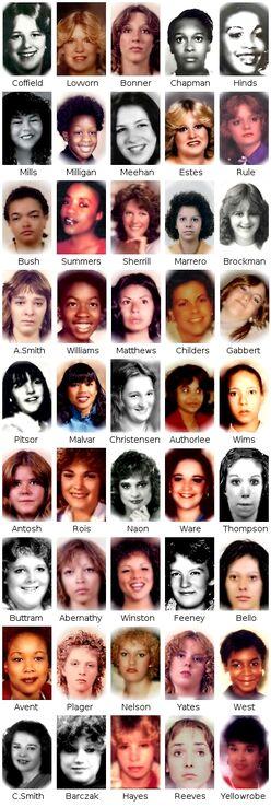 Ridgway's Victims