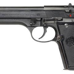 The Beretta 92SB.