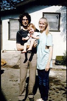 David Koresh and Rachel Jones with one of their children