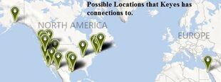Keyes Locations