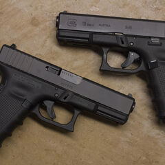 Two 4th Generation Glock 19s.