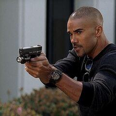 Morgan's Glock 17 in
