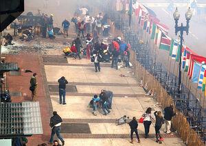 Boston Marathon site