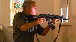 Bringing a rifle to church