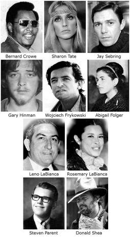 Manson's victima