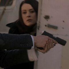 Reid's Glock 17.