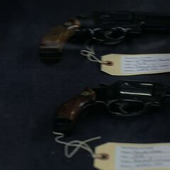 Two other revolvers seen in Connors' store.