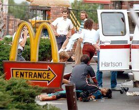 McDonald's crime scene