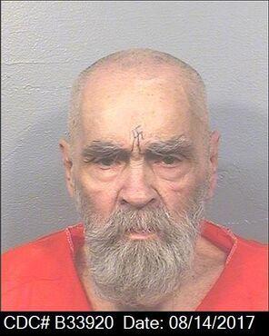 Manson Mugshot 2017