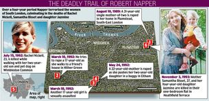 Napper Crime Map