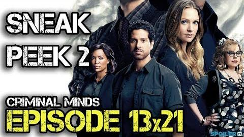 "Criminal Minds 13x21 Sneak Peek 2 ""Mixed Signals"""
