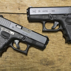 Two Glock 26s.