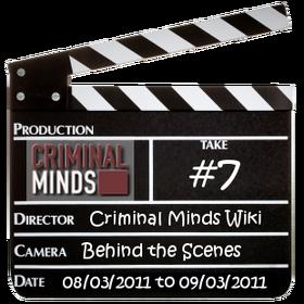 Behind the Scenes/Take 7
