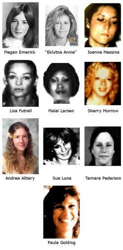 Hansen's victims