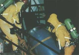 HazMat team at Dahmer's apartment