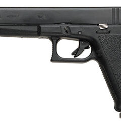 Glock 17L, the long-barreled version of the Glock 17