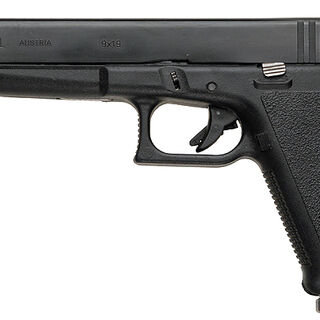 Glock 17L, the long-barreled version of the Glock 17.