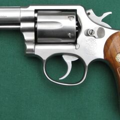 Smith & Wesson Model 65 .357 Magnum w/ 3in. barrel & wood grips