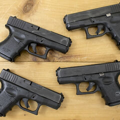 four 3rd Generation Glock 26s
