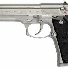 The Beretta 92FS Inox Model.