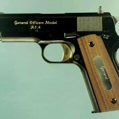 An M15 General Officers pistol.