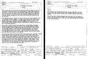 Whitman's police report