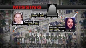 Castro abductions locations
